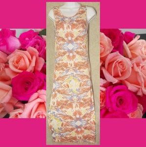Free People Floral Maxi S